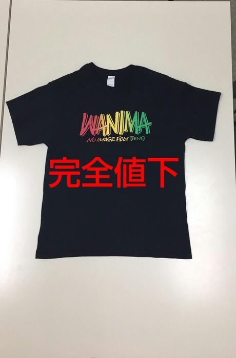 新品未開封 WANIMA Tシャツ ライブグッズの画像