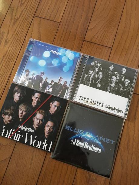 三代目 J Soul Brothers CD 4枚セット ライブグッズの画像