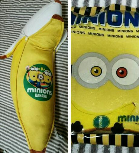 ミニオン非売品セット BIGバナナクッション  スクイーズ グッズの画像