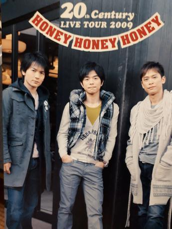 20th Century  LIVE TOUR2009 HONEYパンフ コンサートグッズの画像