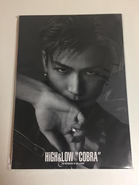 HIGH&LOW COBRA 岩田剛典フォトブック 受注限定生産 ライブグッズの画像