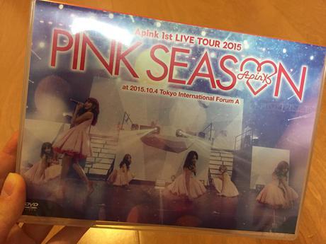 【美品】A PINK 1st LIVE TOUR 2015 DVD 2枚組 ライブグッズの画像