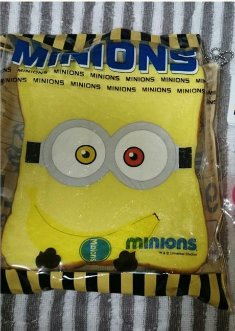 未開封 ミニオン 食パン スクイーズ 非売品 ボブ グッズの画像