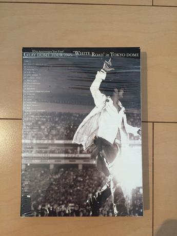 GLAY DVD 10thanniversaryホワイトロード ライブグッズの画像