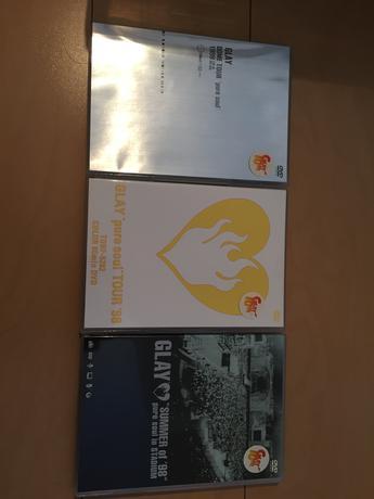 GLAY puresoulDVD 3枚セット ライブグッズの画像