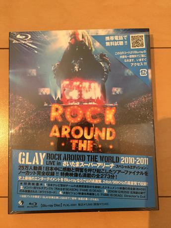 GLAY Liveツアーブルーレイ ライブグッズの画像