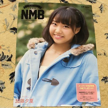 NMB48 Kawaii NMB 2016 加藤夕夏  冊子のみ ライブグッズの画像