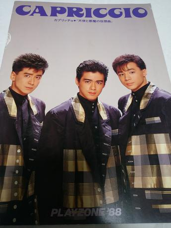 少年隊パンフレットプレゾンカプリッチョ コンサートグッズの画像