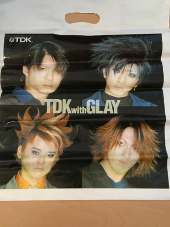 TDK 袋 GLAY ライブグッズの画像