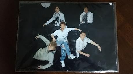 SMAP クリアファイル コンサートグッズの画像