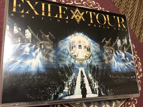 EXILE   LIVE DVD ライブグッズの画像