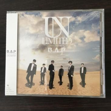 美品 新品未開封 B.A.P アルバム web限定 CD ライブグッズの画像