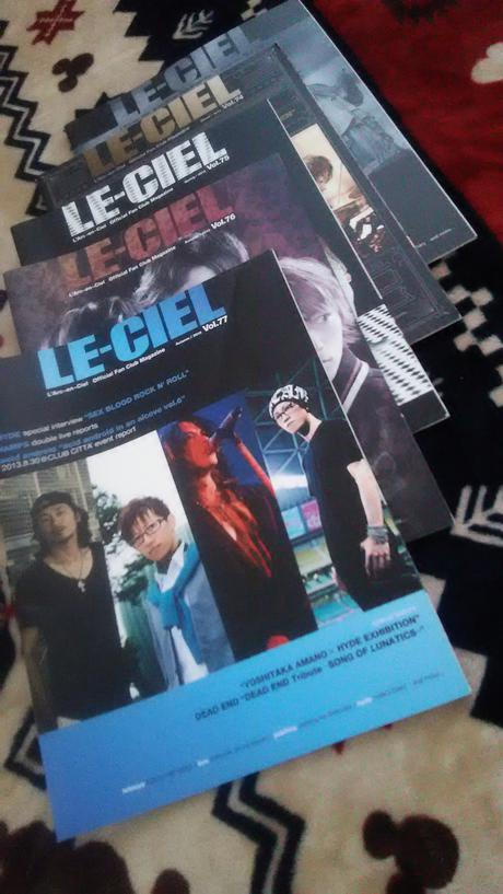 L'Arc~en~Ciel FC会報 ライブグッズの画像