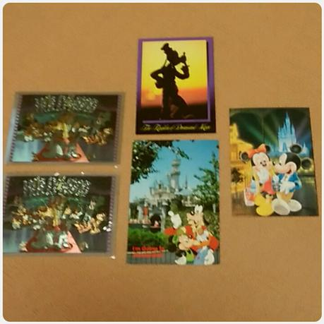 【Disney】入手困難?! ポストカード 5枚セット ディズニーグッズの画像