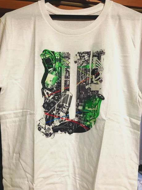 UVERworld 京セラドーム Tシャツ Mサイズ ライブグッズの画像