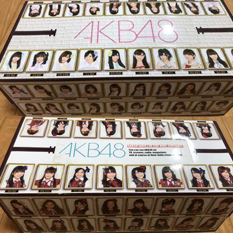 AKB48 箱ティッシュ ライブ・総選挙グッズの画像