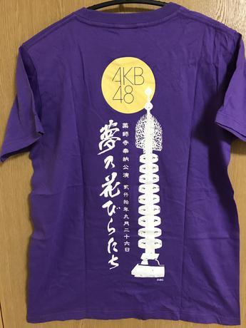 AKB48 薬師寺奉納公演2010 Tシャツ ライブ・総選挙グッズの画像