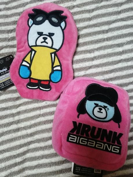 BIGBANG非売品アップリケポーチ 2つセットGーdragonジヨン ライブグッズの画像