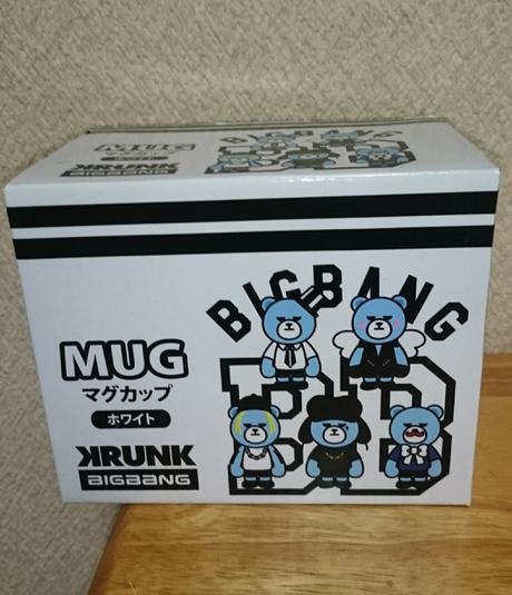 BIGBANG未使用マグカップ ホワイト ライブグッズの画像