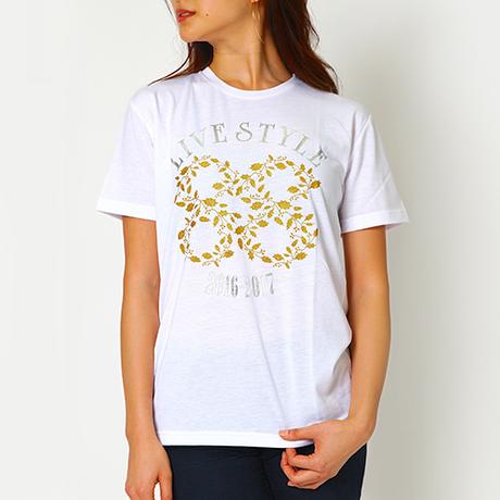 安室奈美恵 ゴールドリーフ Tシャツ Mサイズ グッズの画像