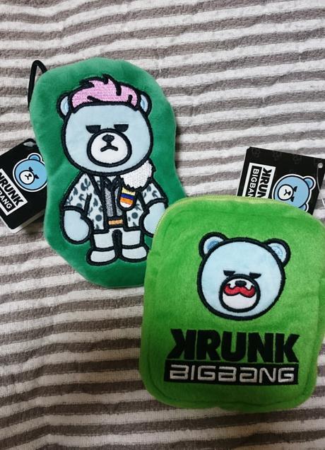 BIGBANG非売品アップリケポーチ2つセットT.O.Pタプ ライブグッズの画像