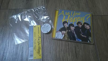嵐 Are You Happy?アユハピ CD 通常版 コンサートグッズの画像