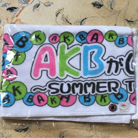 AKB48 全国ツアー2011 マフラータオル 新品未開封 ライブ・総選挙グッズの画像