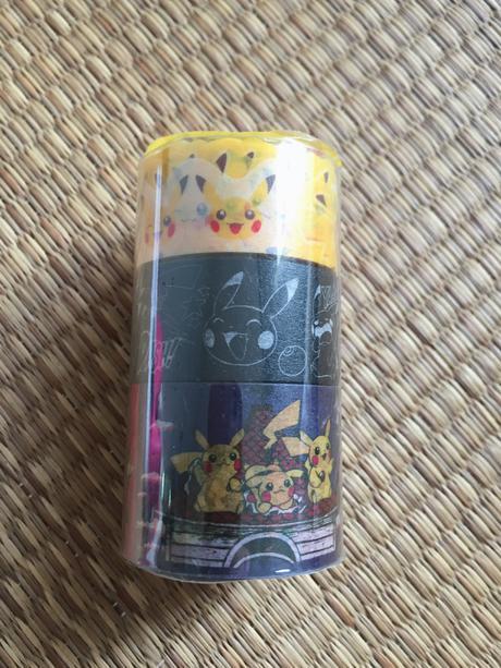 Pikachu in the farm ダイカットマスキングテープ 3個セット グッズの画像