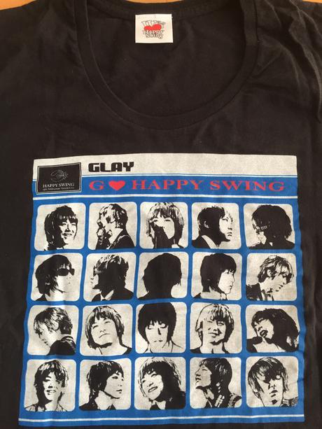 【即購入不可】GLAY JIROプロデュース  ツアーTシャツ ライブグッズの画像