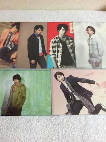 嵐 櫻井翔クリアーファイル10枚 コンサートグッズの画像