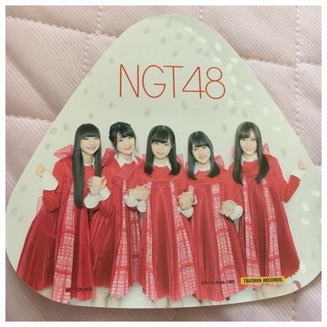 即購入NG☆NGT48 青春時計 特典 おにぎり型カード ライブグッズの画像
