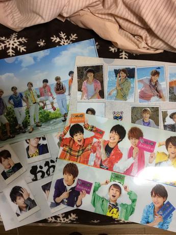 CD購入特典 クリアファイル4枚