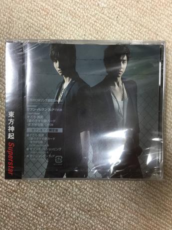 東方神起 シングルCD Superstar セブン&アイ限定盤 ライブグッズの画像