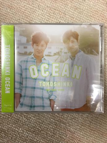 東方神起 シングルCD OAEAN ビギスト盤 ライブグッズの画像
