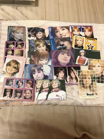 浜崎あゆみ カード シール グッズ ライブグッズの画像