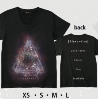 [Alexandros] Tシャツ 2016~2017 新品