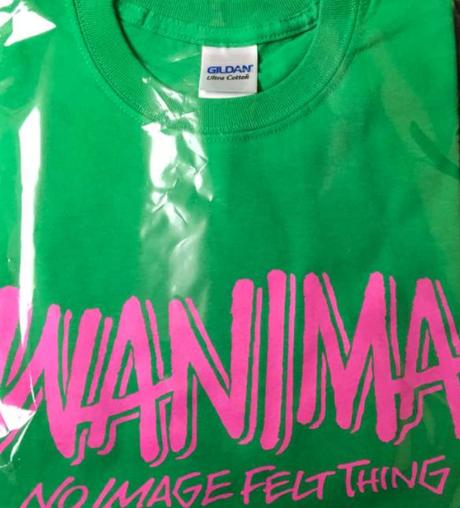 WANIMA ロゴTシャツ 緑 新品 ライブグッズの画像