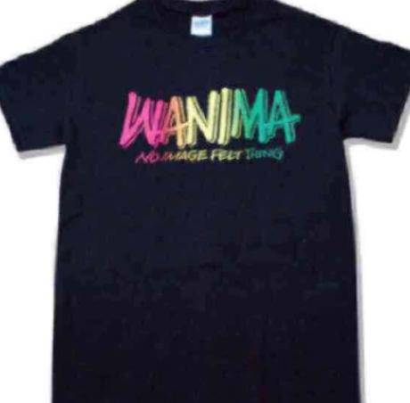 WANIMA ロゴTシャツ ブラック 新品 ライブグッズの画像