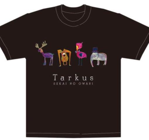 セカオワ タルカスライブTシャツ 美品