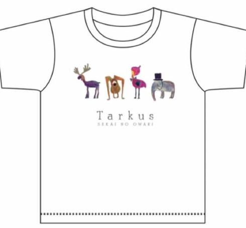 セカオワ タルカスライブ キッズTシャツ 美品