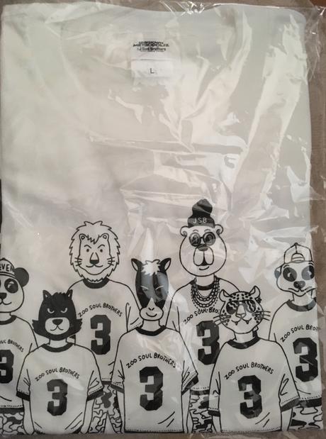 三代目 ANIMAL Tシャツ ライブグッズの画像