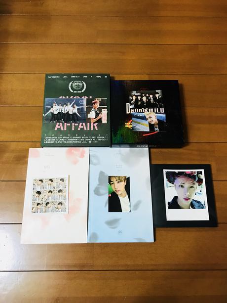 防弾少年団 BTS トレカ付きCD まとめ売り ライブグッズの画像