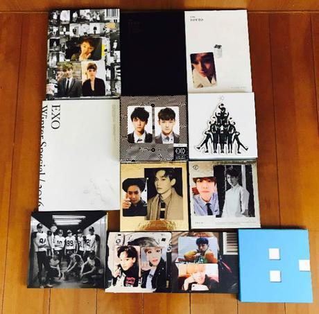 EXO トレカ付きCD 12枚セット ライブグッズの画像