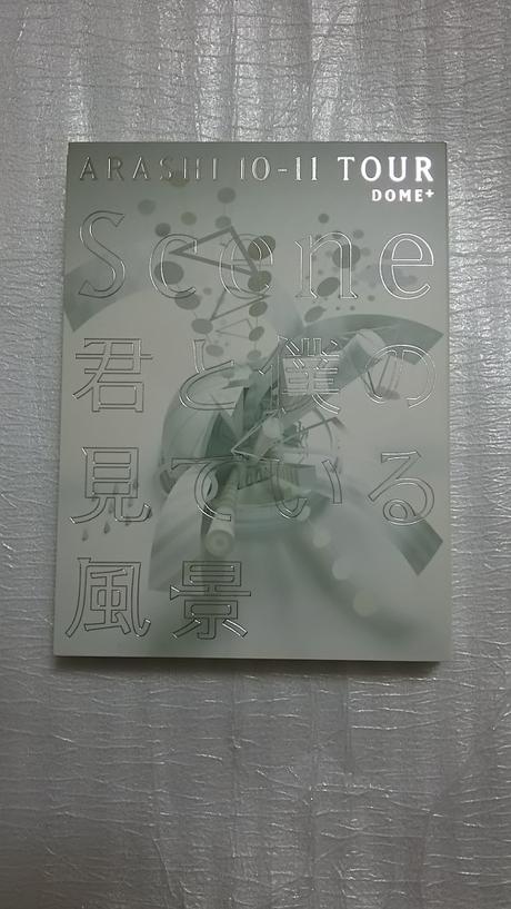 """嵐  初回限定版 """"Scene""""~君と僕の見ている風景~ DOME+ コンサートグッズの画像"""