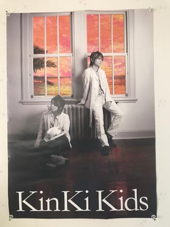 ジャニーズ KinKi Kids ポスター コンサートグッズの画像