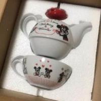ミッキー&ミニー♡Love Loveシリーズ♡ ティーポットセット ディズニーグッズの画像 2枚目