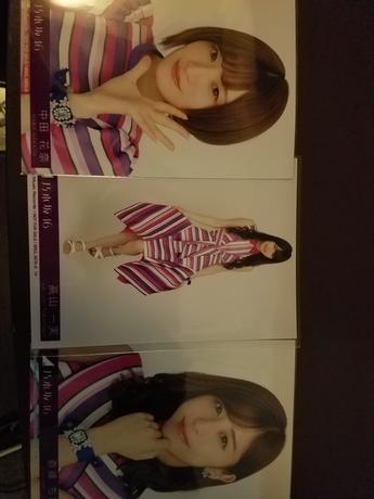 乃木坂46 一期生 写真 3枚 グッズの画像