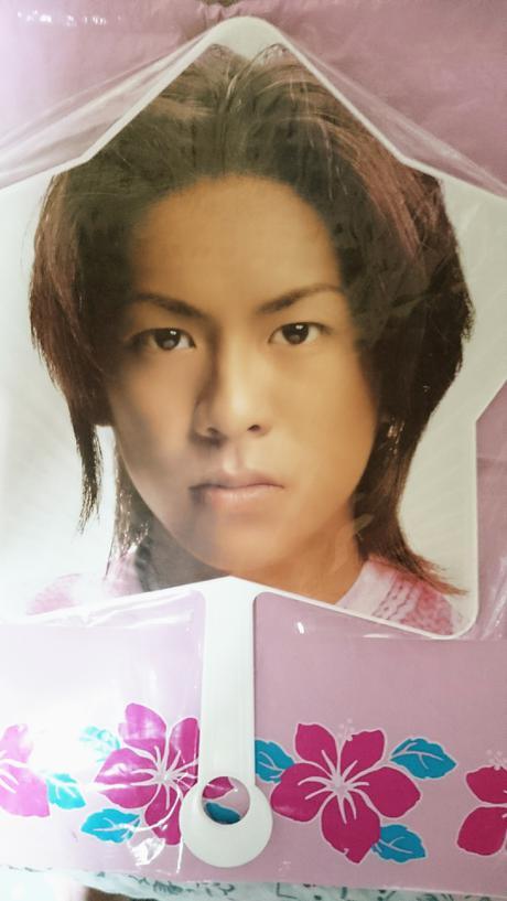 V6 森田剛 うちわ 1998年 コンサートグッズの画像