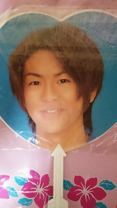 最終値下げ V6 森田剛 うちわ 1996年 コンサートグッズの画像