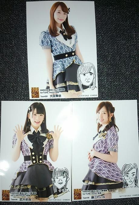 NMB48♥生写真 ライブグッズの画像